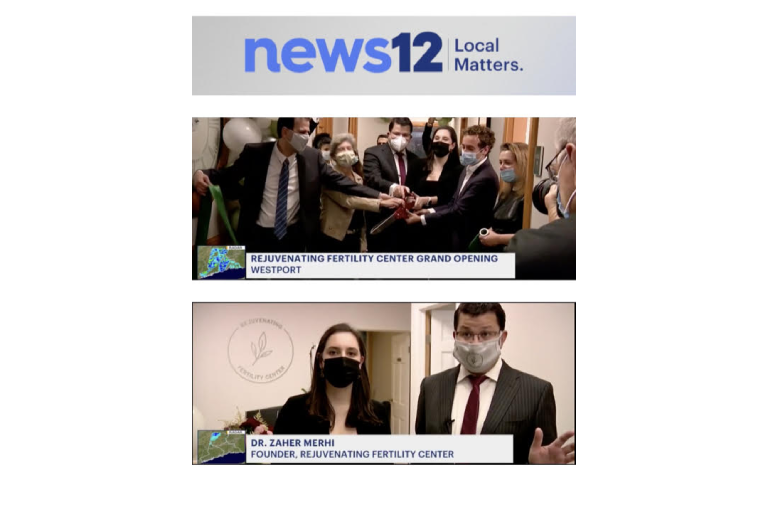 Congratulations! Dr. Zaher Merhi and Rejuvenating Fertility Center were featured on News 12 Connecticut