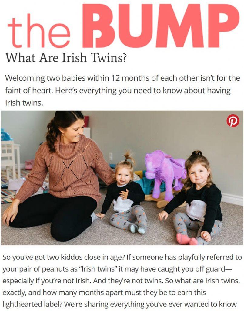 """What are Irish Twins?"